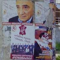 Wahlkampf in Georgien 2002